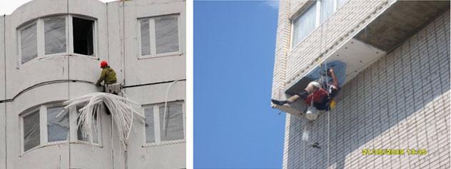 Герметизация межпанельных швов и балконов » наши услуг.